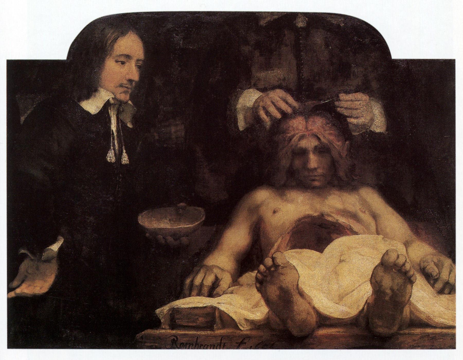 Rembrant, Čas anatomije dr Dejmana, 1656