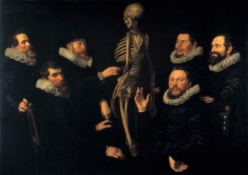 Tomas de Kejzer, Čas osteologije dr Sebastijana Egbertsa Nikolaesa Eliasa Pikenoja, 1619,