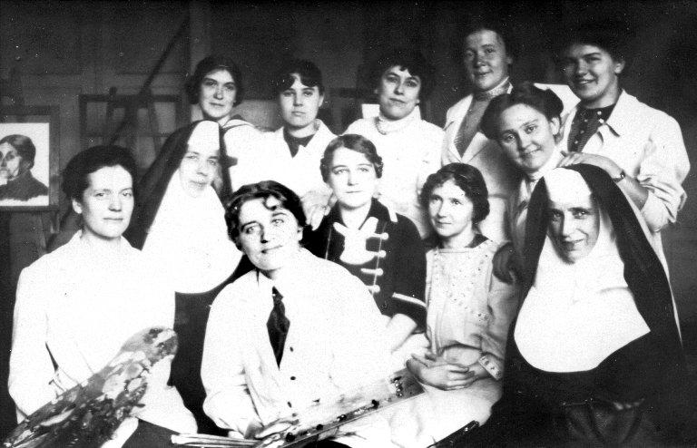 Damenakademie, 1913.