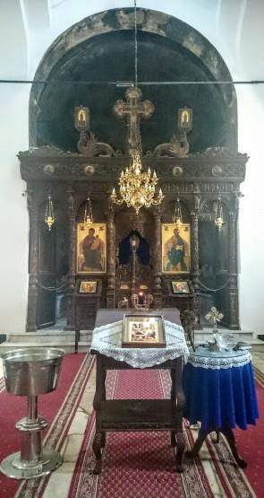 Ikonostas u Crkvi Rođenja Presvete Bogorodice
