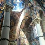 Enterijer crkve na Oplencu, severna pevnica.