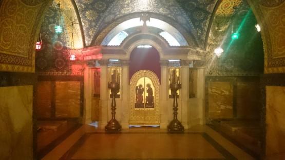 Kripta crkve Svetog Đorđa, mauzolej dinastije Karađorđevića na Oplencu