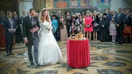 Venčanje princa Mihaila Karađorđevića i Ljubice Ljubisavljević u crkvi Svetog Đorđa 23. oktobra 2016.