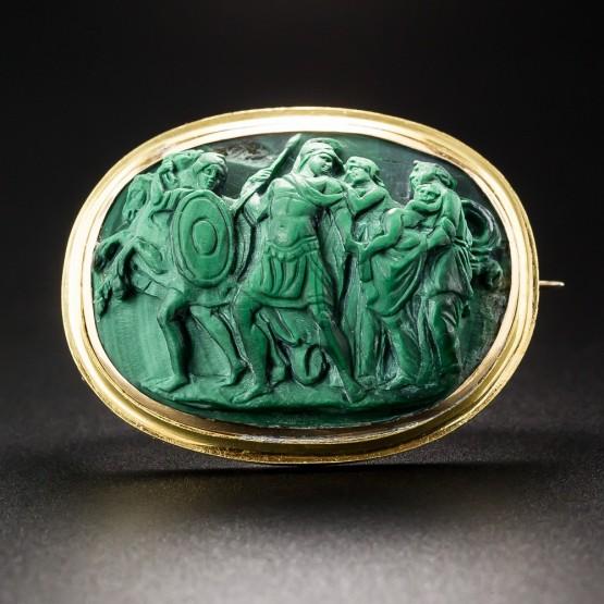 Rimska kameja od malahita